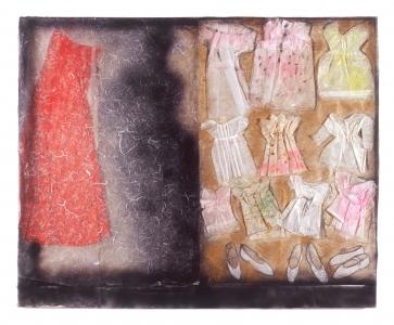 Γυναικεία φιγούρα με φορέματα